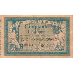 Marseille - Pirot 79-37 - Série 2-R - 50 centimes - 1914 - Etat : TB-