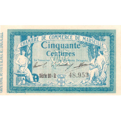 Marseille - Pirot 79-37 - 50 centimes - Série 20-R - 12/08/1914 - Etat : NEUF