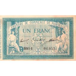 Marseille - Pirot 79-41 - Série 1 franc - Série 5-R - 12/08/1914 - Etat : TTB-