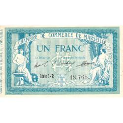 Marseille - Pirot 79-41 - 1 franc - Série 6-R - 12/08/1914 - Etat : TTB