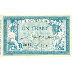 Marseille - Pirot 79-41 - Série 6-R - 1 franc - 1914 - Etat : TTB