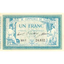 Marseille - Pirot 79-49 - Série V - 1 franc - 1915 - Etat : SPL