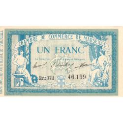 Marseille - Pirot 79-49 - Série XVIII - 1 franc - 1915 - Etat : SUP