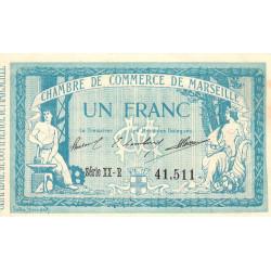 Marseille - Pirot 79-60 - Série XX-R - 1 franc - 1915 - Etat : SUP