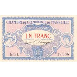 Marseille - Pirot 79-64 - Série P - 1 franc - 1917 - Etat : NEUF