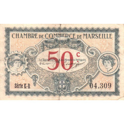 Marseille - Pirot 79-67 - 50 centimes - Série K-R - 05/06/1917 - Etat : TB