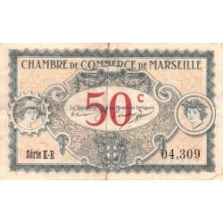 Marseille - Pirot 79-67 - Série K-R - 50 centimes - 1917 - Etat : TB