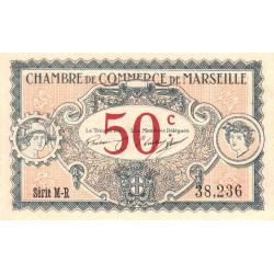 Marseille - Pirot 79-67 - Série M-R - 50 centimes - 1917 - Etat : SUP