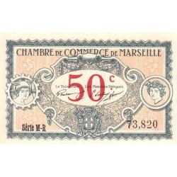 Marseille - Pirot 79-67 - Série M-R - 50 centimes - 1917 - Etat : NEUF