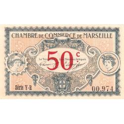 Marseille - Pirot 79-67 - Série Y-R - 50 centimes - 1917 - Etat : SUP+