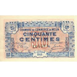 Melun - Pirot 80-1a - 50 centimes - Etat : SUP+