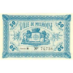 68 Mulhouse (Ville de) - Pirot 132-1 - 50 centimes - Etat : NEUF