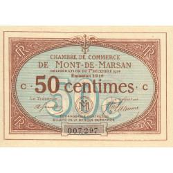 Mont-de-Marsan - Pirot 82-12 - Série C - 50 centimes - 1916 - Etat : SUP+