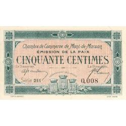 Mont-de-Marsan - Pirot 82-30 - Série 211 - 50 centimes - 1918 - Etat : SUP+