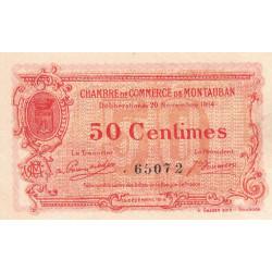 Montauban - Pirot 83-1a - 50 centimes - 1914 - Etat : SUP+