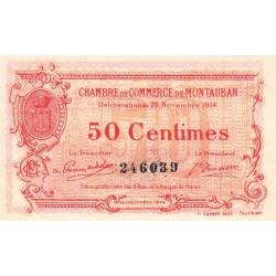 Montauban - Pirot 83-1b - 50 centimes - Etat : SUP