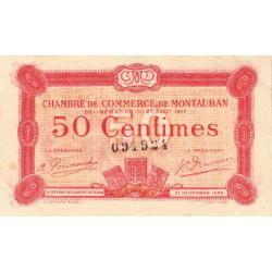 Montauban - Pirot 83-13 - 50 centimes - Etat : TTB+