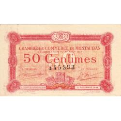 Montauban - Pirot 83-13 - 50 centimes - 1917 - Etat : SUP