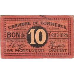 Montluçon-Gannat - Pirot 84-67b - 10 centimes - Etat : TTB+
