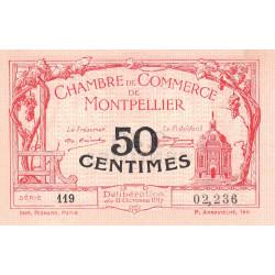 Montpellier - Pirot 85-16 - 50 centimes - Série 119 - 11/10/1917 - Etat : SUP