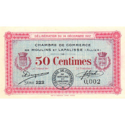 Moulins / Lapalisse - Pirot 86-11 - 50 centimes - Etat : NEUF