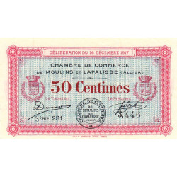 Moulins / Lapalisse - Pirot 86-11 - 50 centimes - Etat : SUP+