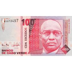 Cap-Vert - Pick 57 - 100 escudos - 20/01/1989 - Etat : NEUF