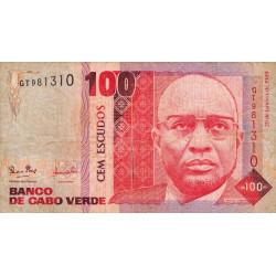 Cap-Vert - Pick 57 - 100 escudos - 20/01/1989 - Etat : TB