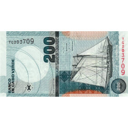Cap-Vert - Pick 68 - 200 escudos - 2005 - Etat : NEUF