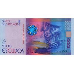 Cap-Vert - Pick 73 - 1'000 escudos - Série EK - 05/07/2014 - Etat : NEUF