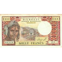 Djibouti - Pick 37a - 1'000 francs - 1979 - Etat : TB+