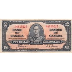 Canada - Pick 59c - 2 dollars - 1950 - Etat : TB