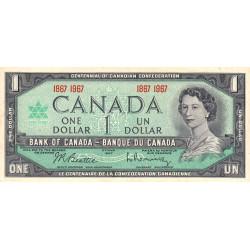 Canada - Pick 84a - 1 dollar - 1967 - Commémoratif - Etat : SUP+
