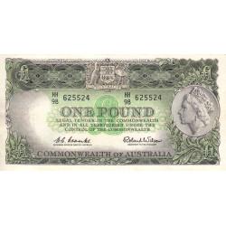 Australie - Pick 34 - 1 pound - 1961 - Etat : TTB