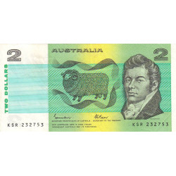 Australie - Pick 43e - 2 dollars - 1985 - Etat : TB+