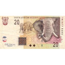 Afrique du Sud - Pick 129b - 20 rand - 2009 - Etat : TB+