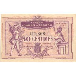 Bergerac - Pirot 24-35 - 50 centimes - 1920 - Etat : TB+