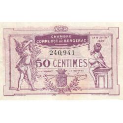 Bergerac - Pirot 24-35 - 50 centimes - 1920 - Etat : TTB