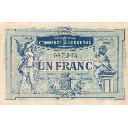 Bergerac - Pirot 24-37 - 1 franc - 12/07/1920 - Etat : TB