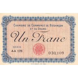 Besançon (Doubs) - Pirot 25-21 - 1 franc - Etat : SPL