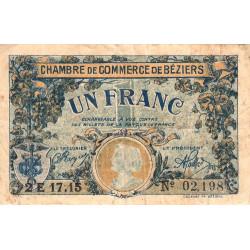Béziers - Pirot 27-34 - 1 franc