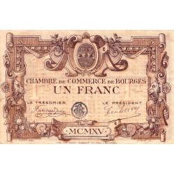 Bourges - Pirot 32-2-C - 1 franc - 1915 - Etat : TB+