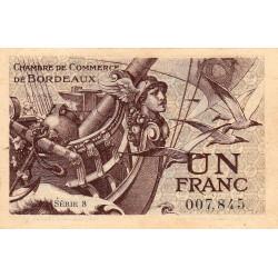 Bordeaux - Pirot 30-30 - 1 franc- Série 8 - 1921 - Etat : SPL+