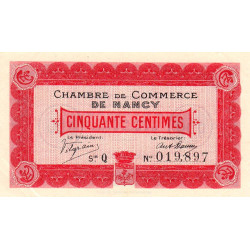 Nancy - Pirot 87-1 - 50 centimes - Etat : SUP