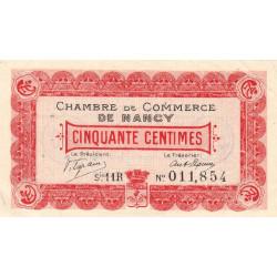 Nancy - Pirot 87-20 - 50 centimes - Etat : SUP