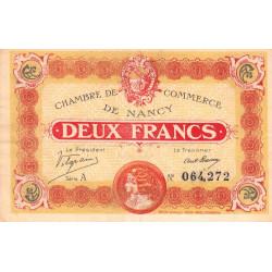 Nancy - Pirot 87-25 - 2 francs - Série A - 11/11/1918 - Etat : TTB+