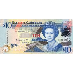 Etats de l'Est des Caraïbes - Pick 48 - 10 dollars - 2008 - Etat : NEUF