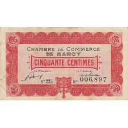 Nancy - Pirot 87-40 - 50 centimes - Etat : TB+