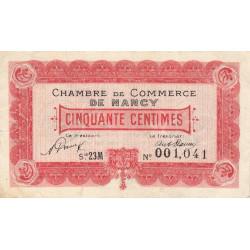 Nancy - Pirot 87-41 - 50 centimes - Etat : TTB+