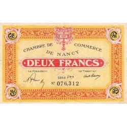 Nancy - Pirot 87-52-Fbis - 2 francs - Etat : TB+